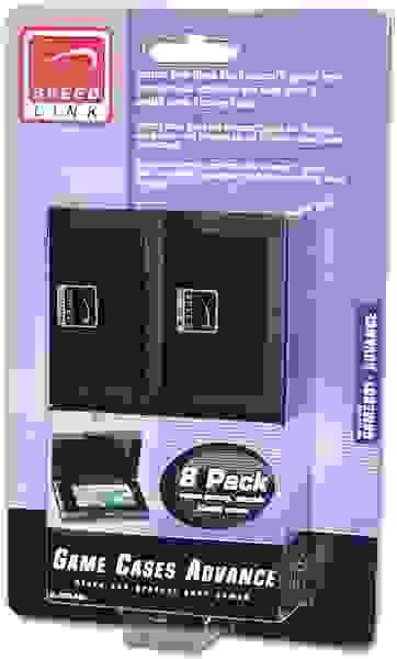 Game Cases Advance 8 Pack